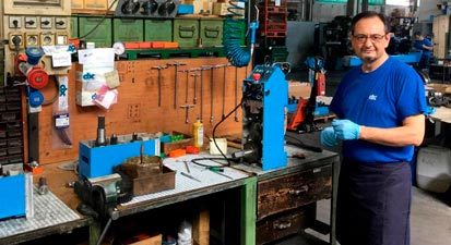 Ежегодное обучение на итальянском заводе CBC