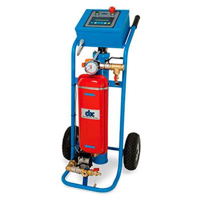 Передвижная водонагревательная установка CBC KSM 9
